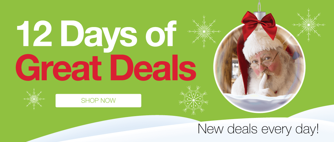 12 Days of Great Deals